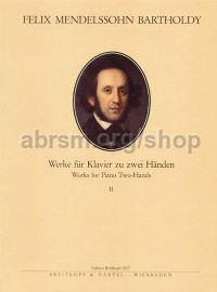 Complete Piano Works for Two Hands, Volume 2