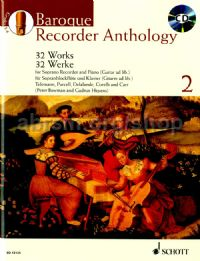 Baroque Recorder Anthology, Vol. 2 (+ CD)