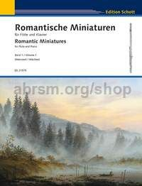 Romantic Miniatures Band 1 - flute & piano
