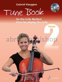 Cello Method: Tune Book 2 (Book & CD)
