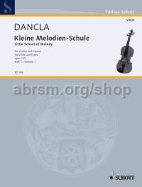 Little School of Melody op. 123 Band 1 - violin & piano