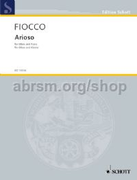 Arioso for oboe & piano