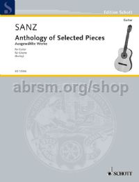 Anthology Of Selected Pieces Guitar