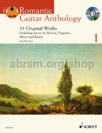 Romantic Guitar Anthology 1 (Book & CD)