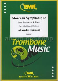 Morceau Symphonique Op. 88 for Bass Trombone & Piano