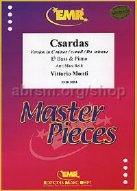 Csardas Cmin for Eb Bass & Piano