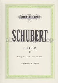 Lieder, Vol. 2: 75 Songs (High Voice)