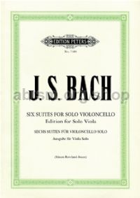 6 Cello Suites BWV 1007-1012 for Viola