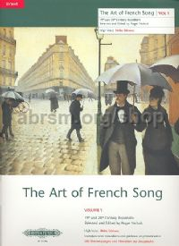 Art of French Song Vol.1 (High Voice)