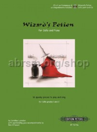 Wizard's Potion for cello and piano (part and CD)