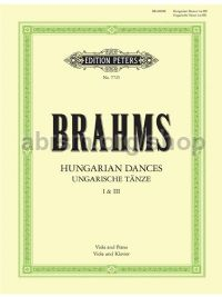 Brahms Hungarian Dances 1 & 3 Viola & Piano