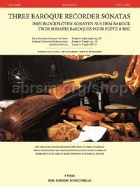 Three Baroque Recorder Sonatas