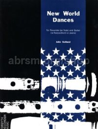 New World Dances for recorder & piano