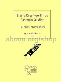Thirty One Two Three Bassoon Studies