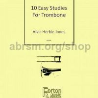 10 Easy Studies for Trombone (bass clef)