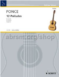 12 Preludes for guitar