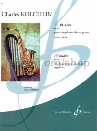 15 Etudes Op. 188 For Alto Sax