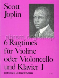 Six Ragtimes for Violin, Vol. 1, arr. Förster