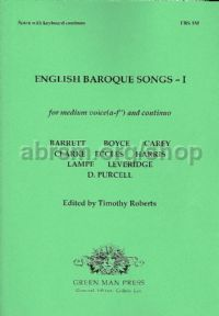 English Baroque Songs I (Medium Voice)