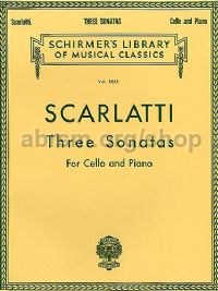 Three Sonatas for Cello