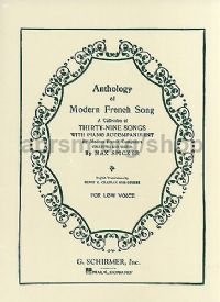 Anthology Of French Song: Low