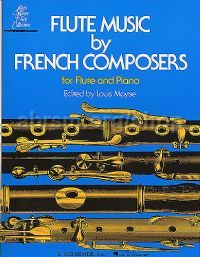 Flute Music by French Composers for Flute & Piano