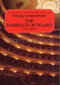 Marriage of Figaro Vocal Score Italian/English (Schirmer Opera Score Editions)