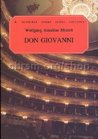 Don Giovanni Vocal Score It/Eng (Schirmer Opera Score Editions)