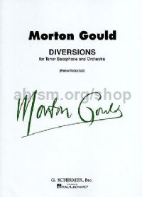 Diversions for tenor saxophone & piano
