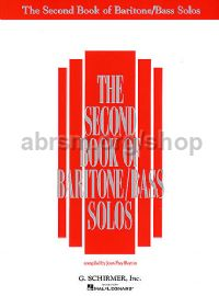 Second Book of Baritone/Bass Solos