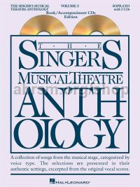 Singer's Musical Theatre Anthology 2 Soprano (Book & CDs)