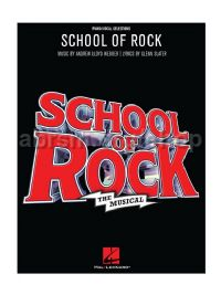 School Of Rock The Musical (PVG)