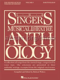 Singer's Musical Theatre Anthology 3 Baritone/Bass (Book Only)