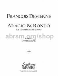 Adagio and Rondo for tenor saxophone & piano