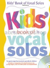 Kids Book of Vocal Solos (Book & CD)