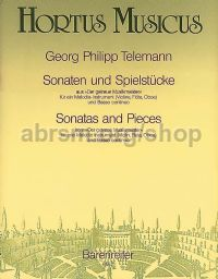 Sonatas and Pieces from 'Der getreue Musikmeister'