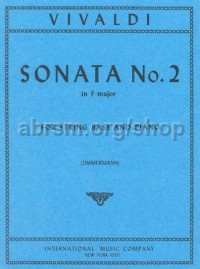 Sonata No. 2 in F major for double bass & piano