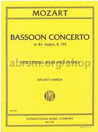 Bassoon Concerto K. 191 - Double Bass & Piano