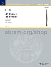 48 Studies Vol. 1 for Clarinet