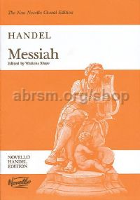 Messiah (vocal score) (Paperback, Shaw Edition)