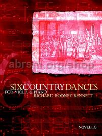 Six Country Dances (Viola & Piano)