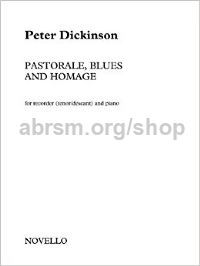 Pastorale, Blues and Homage (for tenor/descant recorder)