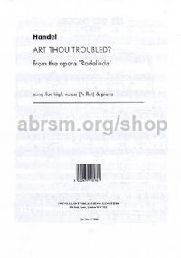 Art Thou Troubled? (High Voice & Piano)