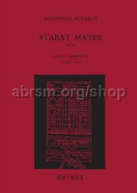 Stabat Mater, RV 621 (Voice & Orchestra)