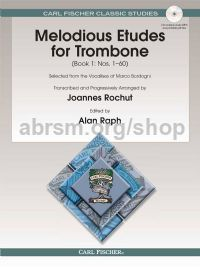 Melodious Etudes for Trombone, Book 1