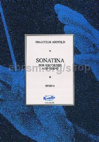 Sonatina for Recorder, Op. 41