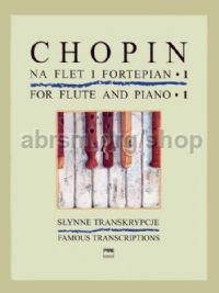 Chopin for Flute and Piano, Book 1