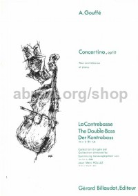 Concertino Op. 10 for Double Bass