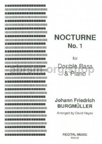 Nocturne No. 1 for double bass & piano