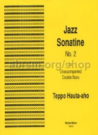 Jazz Sonatine No.2 for solo double bass